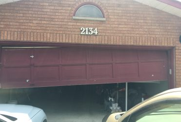 Garage Door out of Balance Thornhill