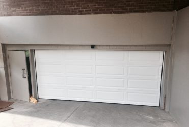 Building Entrance Garage Door Toronto