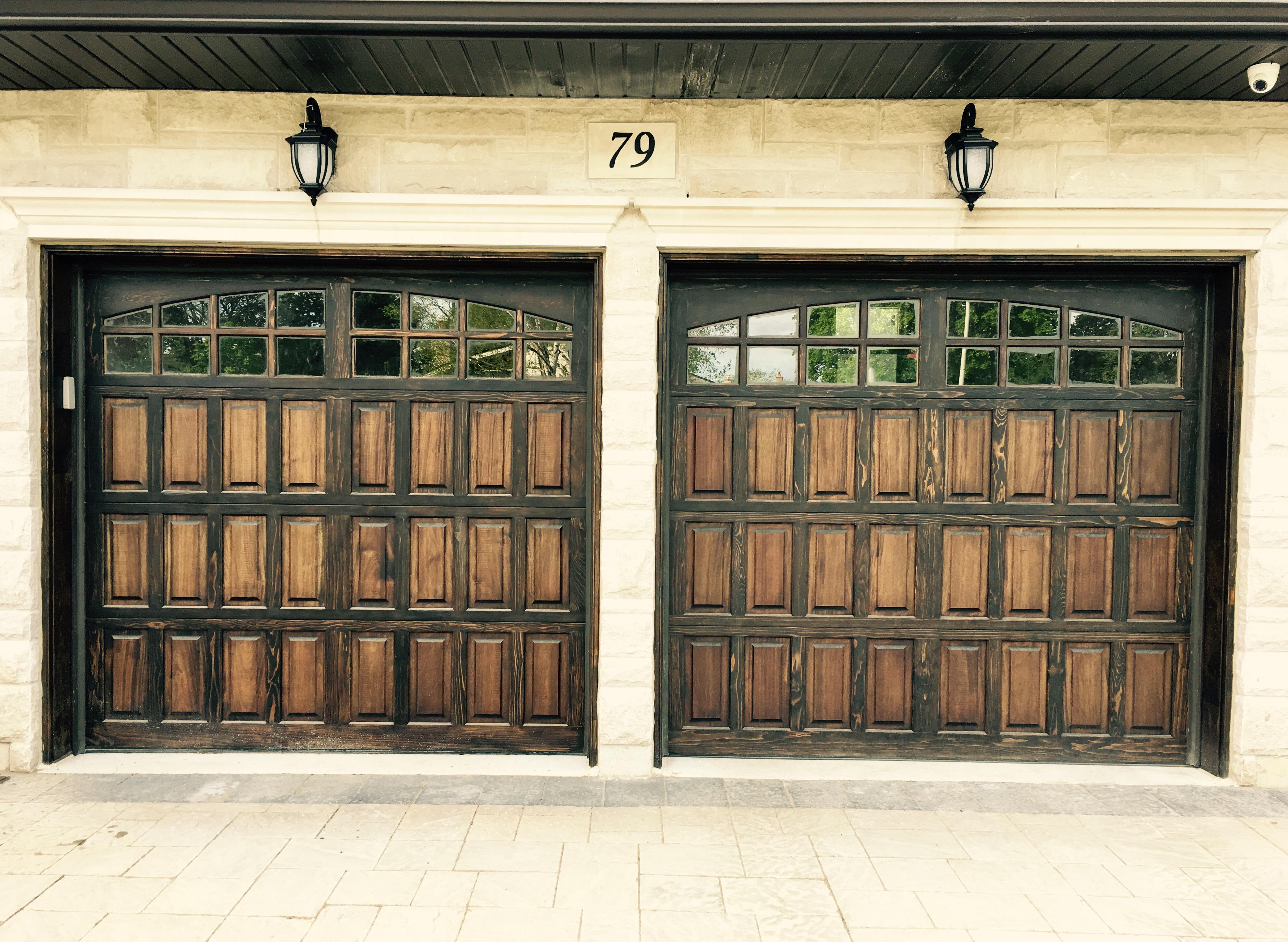 to decals door how decorate new garage your